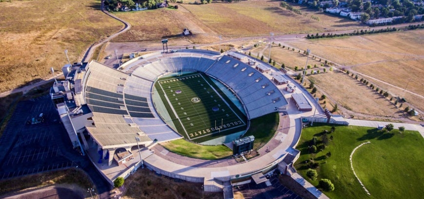 Colorado state football stadium