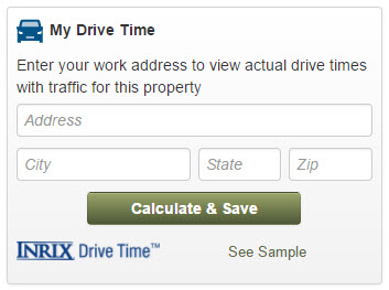 Calculate my Drive Time with Inrix
