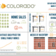 REcolorado Denver Metro Market Watch Infographic January 2018