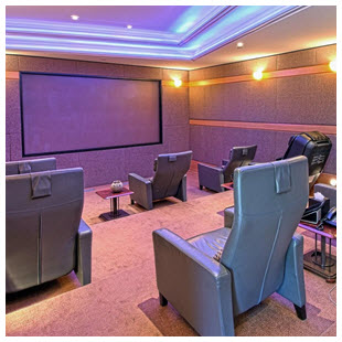 home theater individual seating