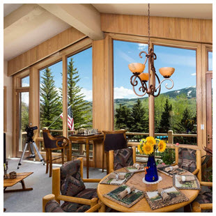 snowmass luxury ski home mountain view