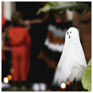 ghost decoration trick or treat