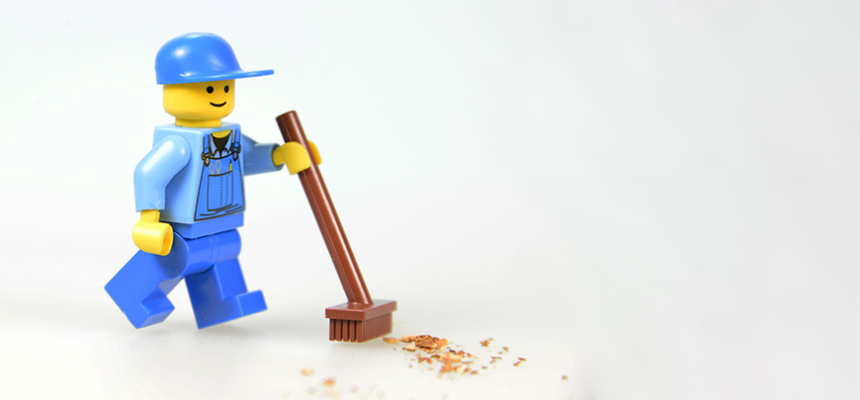 lego cleaning broom