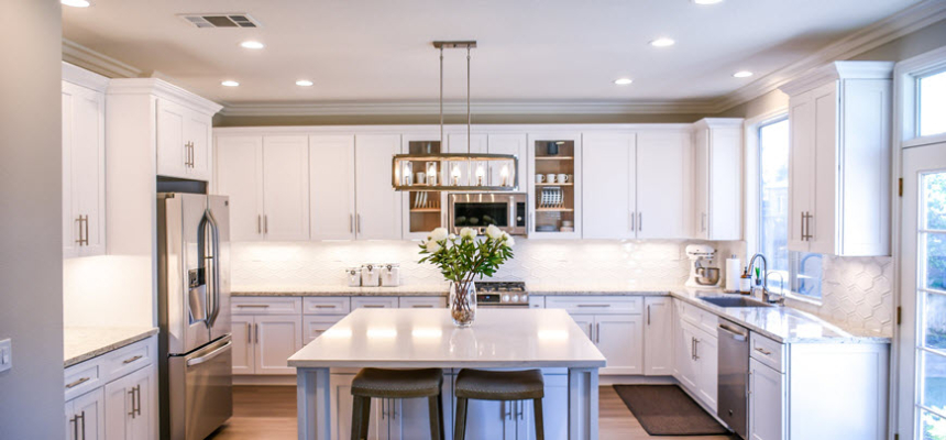 kitchen remodel budget counters cabinets