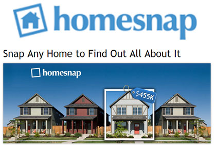 Homesnap image - real estate app