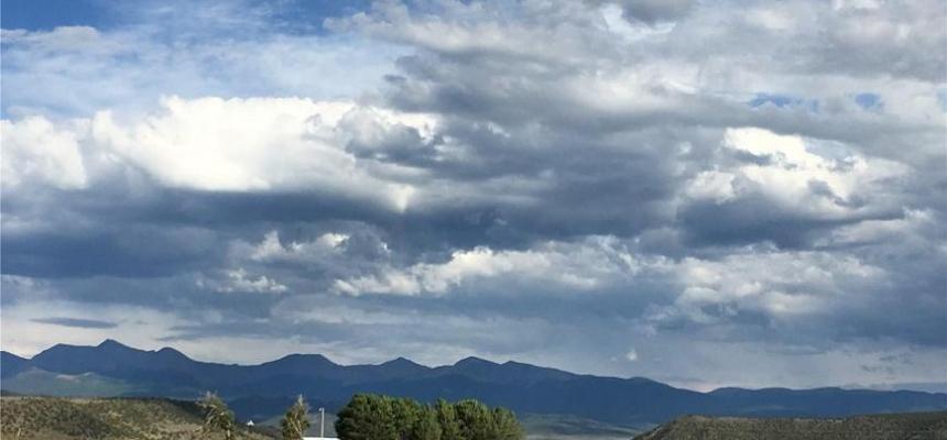 San Luis Valley skyline