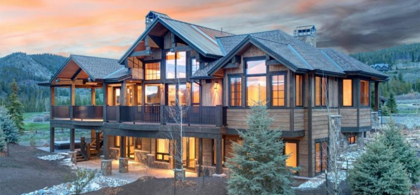 Mountain Home in Vail, Colorado