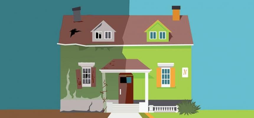 flipped house image