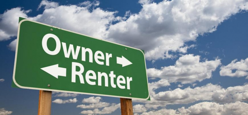 sign with owner and renter
