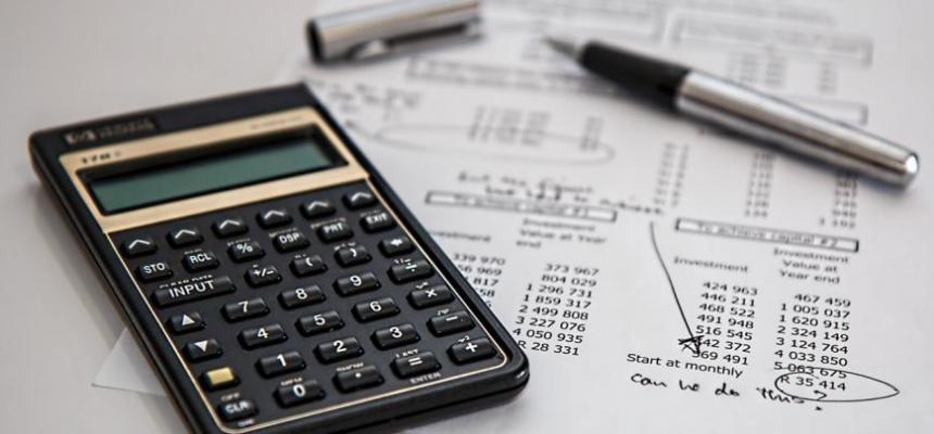 calculator paperwork homebuying
