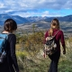two women hiking in Colorado