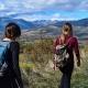 two women hiking in Colorado