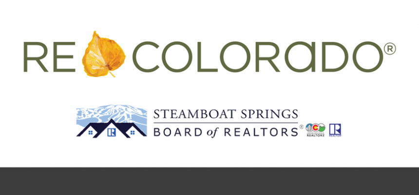 REcolorado and Steamboat Springs Board of Realtors Logos