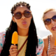 staycation denver women summer popsicle
