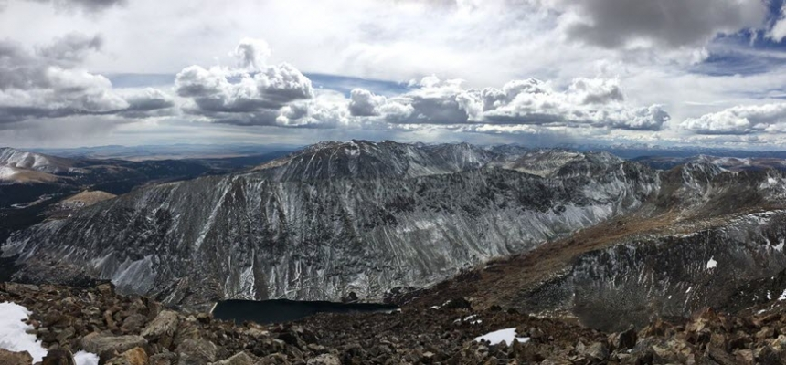 Colorado great outdoors 14er mountain range