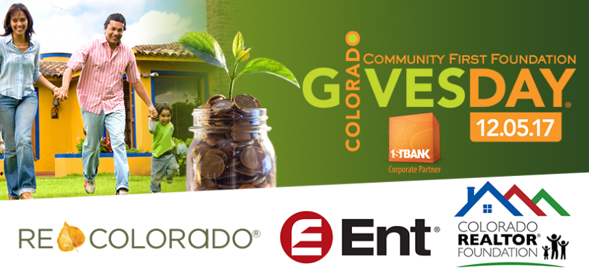 Colorado Gives Day REALTOR Foundation ENT REcolorado