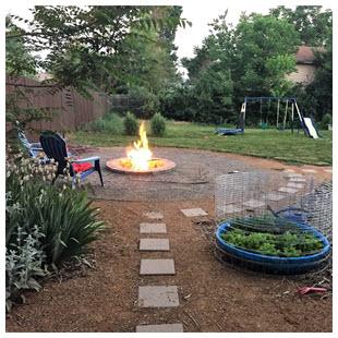 REcolorado 2017 favorite homes backyard fire pit