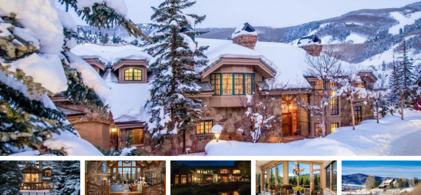 6 stunning ski homes colorado mountain home