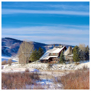 steamboat springs luxury ski home ranch