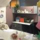 Office space desk tiny house theme