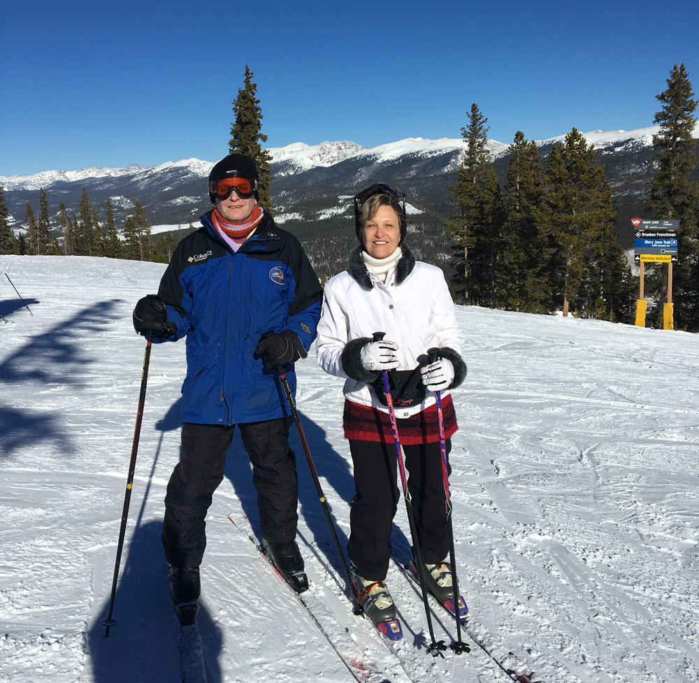 couple ski winter park colorado