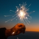 hand firework sparkler safety fourth of july