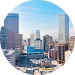 proximity to work downtown skyline city