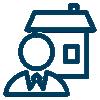 realtor house icon